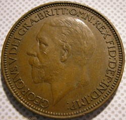 George V - Half Penny 1927 - Great Brita...