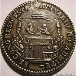 1855 Médaille - La Renuncia del Presidente M.I. Belzu