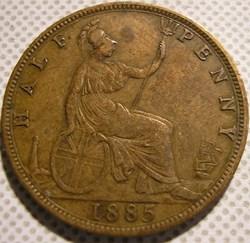 Victoria - Half Penny 1885 - Great Brita...