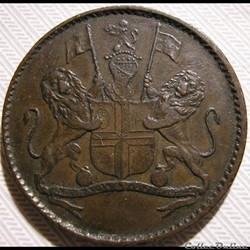 Cie Brit. Indes Orientales - HalfPenny 1821 St. Helena