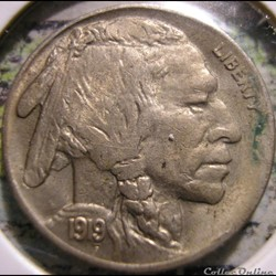 1919 5 Cents