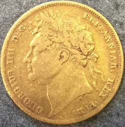 George IV - One Sovereign 1824 - Kingdom...