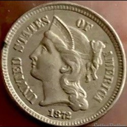 1872 - 3 Cents