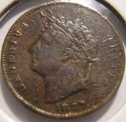 George IV - Third of Farthing 1827 Great...