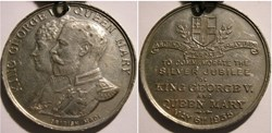 George V & Mary - 1935 Silver Jubilee, B...