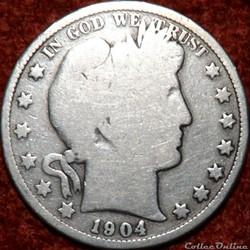 1904 New Orleans Half $