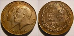 Victoria & George V - 60th Confederation...