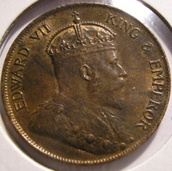 Edward VII - One Cent 1904 - Hong Kong
