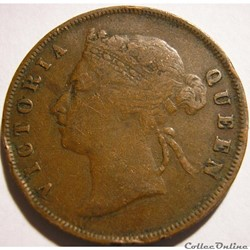 Victoria - One Cent 1897 - Straits Settlements, Malaysia