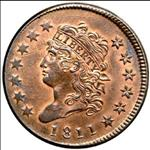 One Cent - Classic Head Cents (1808-1814) - USA