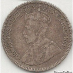 George V - 10 Cents 1917
