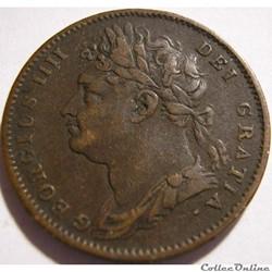 George IV - 1 Farthing 1822 Great Britai...
