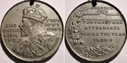 Edward VII - Award Medal 1908-09 London