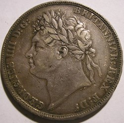 George IV - One Crown 1822 - Kingdom of ...