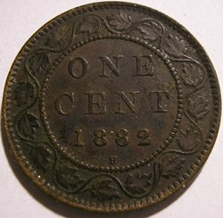 Victoria - One Cent 1882 Heaton