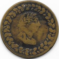 George III - HalfPenny Token 1812 - Imit...