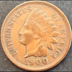 1900 One Cent (ex.3)