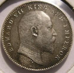 Edward VII - Two Annas 1910 - British In...