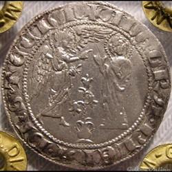 c. 1266-1285 - Salut d'argent, Royaume de Naples - Charles Ier d'Anjou