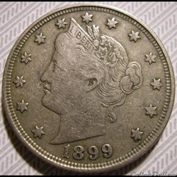 1899 5 Cents