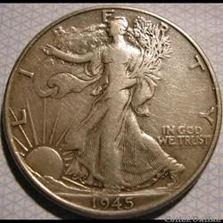 1945 Half Dollar