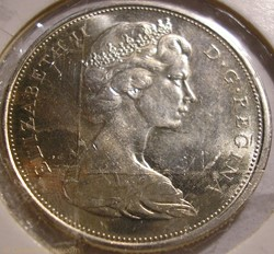 Elizabeth II - 50 Cents 1965