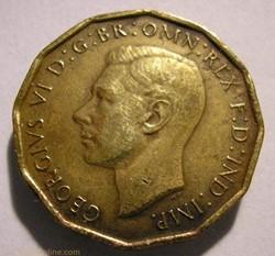 George VI - 3 Pence 1944 - Great Britain