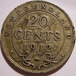George V - 20 Cents 1912 Newfoundland