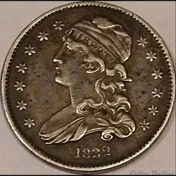1832 Capped Bust 25 Cents