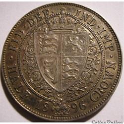 Victoria - Half Crown 1896 - Kingdom of ...