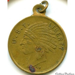 1917 Indian Scouts Token - American troo...