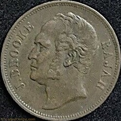 James Brooke - One Cent 1863 - Rajah de ...