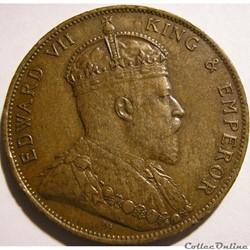 Edward VII - 1/12 Shilling 1909 - Jersey