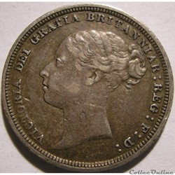 Victoria - Sixpence 1884 Kingdom of Great Britain