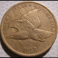 1858 Cent One