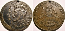 George V & Mary - 1911 Coronation Medal,...