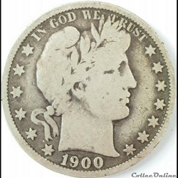 1900 New Orleans Half $
