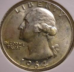 1964 D Quarter Dollar