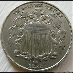 1882 5 Cents