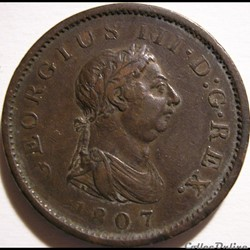 George III - 1 Penny 1807 Great Britain