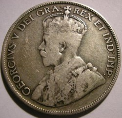 George V - 50 Cents 1929