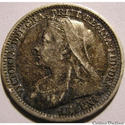 Victoria - 3 pence 1899 Kingdom of Great Britain