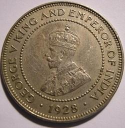George V - Half Penny 1928 - Jamaica