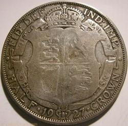 George V - Half Crown 1927 - Great Brita...