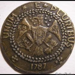 1787 Brasher Doubloon - Nova Eborac - Ne...