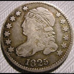 1825 Dime - 10 Cents