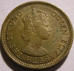 Elizabeth II - 5 Cents 1965 - Hong Kong
