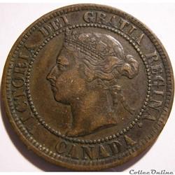 Victoria - One Cent 1888