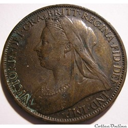 Victoria - One Penny 1899 - Kingdom of Great Britain