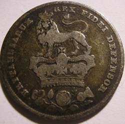 George IV - 1 Shilling 1829 - Great Brit...